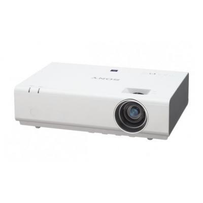 Sony beamer: Portable, 3 LCD, 2800 Lumens, 1024 x 768, CR 3300:1, Zoom 1.3x, 3 x Mini D-sub 15-pin, HDMI, S-Video, .....