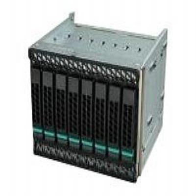 Intel drive bay: Spare 8x3.5 Hot-Swap Drive Cage Kit FUP8X35HSDK - Metallic