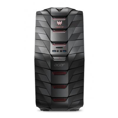Acer pc: Predator G6-710 - Zwart