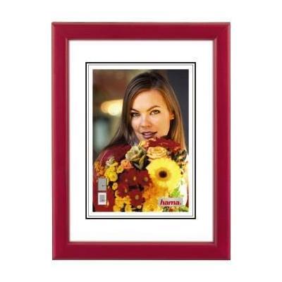"""Hama """"Bella"""" Wooden Frame, red, 15x20 cm Fotolijst - Rood"""