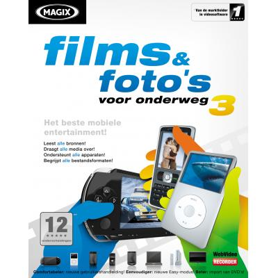 Magix algemene utilitie: Magix, Films + Fotos voor Onderweg 3  Mini Box