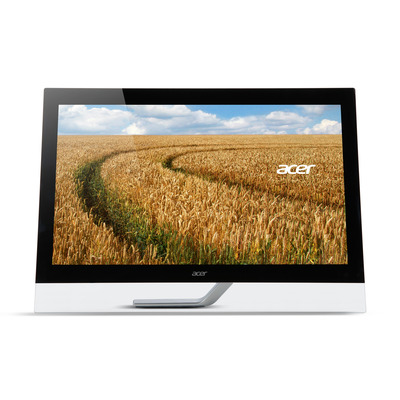 Acer touchscreen monitor: T2 T232HLA - Zwart