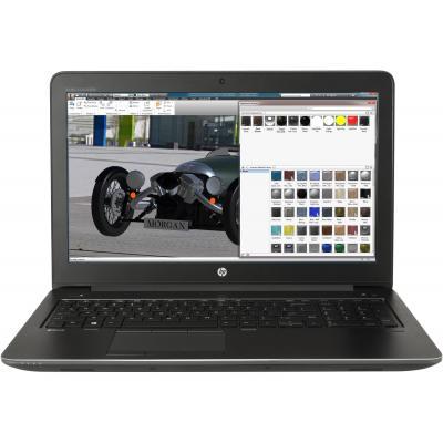 Hp laptop: ZBook 15 G4 - Zwart