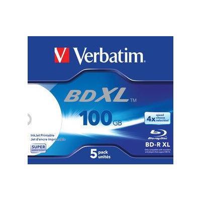 Verbatim BD: BD-R XL 100GB 4x, 5-pack