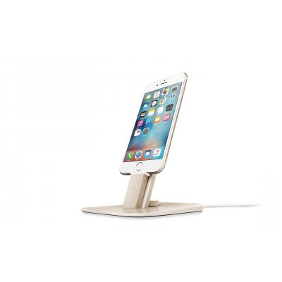 TwelveSouth HiRise Deluxe Mobile device dock station - Goud