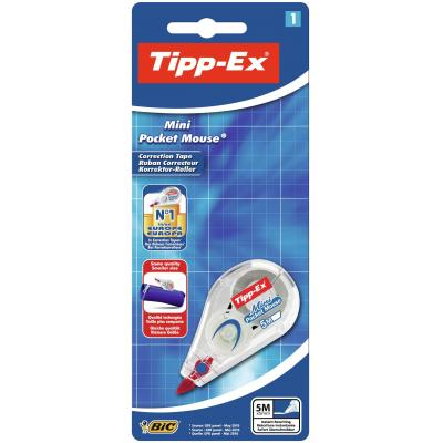 Tipp-ex film/tape correctie: Mini Pocket Mouse Blister 1 - Wit