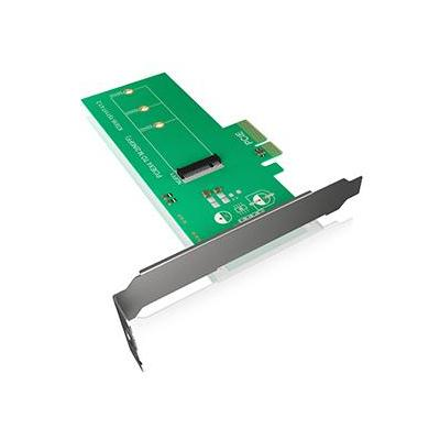 ICY BOX IB-PCI208 Interfaceadapter - Groen