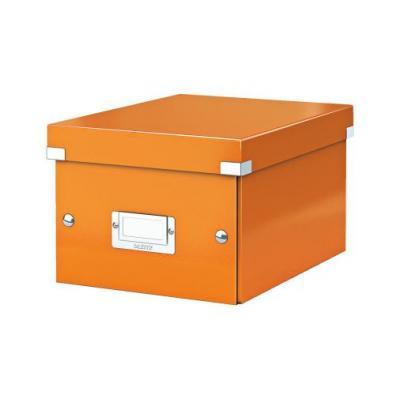 Leitz archiefdoos: Archiefdoos Click & Store klein Oranje