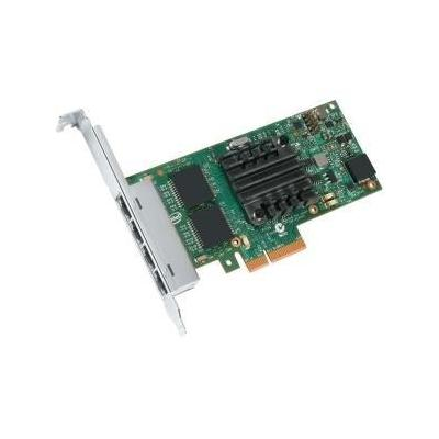 Intel netwerkkaart: Ethernet Server Adapter I350-T4V2 - Groen, Zilver