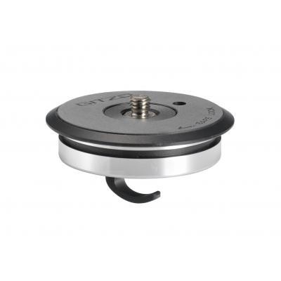 Gitzo SYSTEMATIC flat top plate, Series 2/3/4 Statief accessoire - Zwart