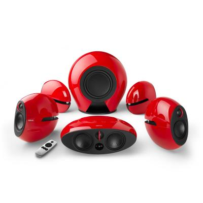 Edifier Speaker: RMS 220W, 95dBA, Optical x 3 /AUX, Black - Rood