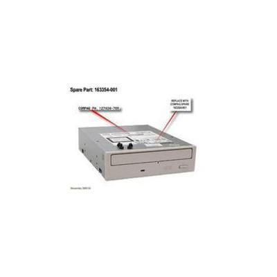 Hp speler: DRV,CD ROM,32X Refurbished