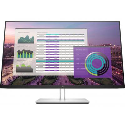 "HP EliteDisplay E324q 31,5"" QHD IPS USB-C Monitor - Zwart, Zilver"