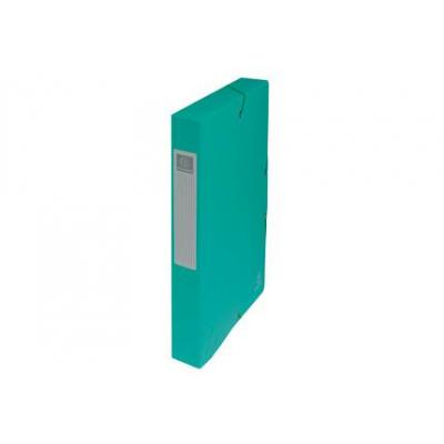 Exacompta archiefdoos: Archiefdoos Rug 40mm versterkt karton - A4 - Groen