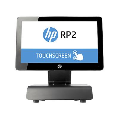 Hp POS terminal: RP2 Retail System Model 2030 - Zwart