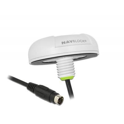 Navilock GPS ontvanger module: NL-82022MP - Wit