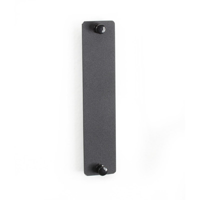 Black Box Blank Adapter Panel Rack toebehoren - Zwart