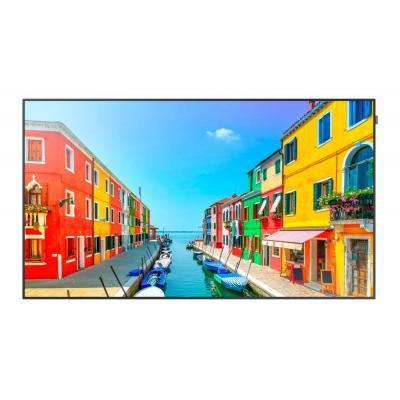 "Samsung public display: FHD Large Format Display 75"" OM75D-W - Zwart"
