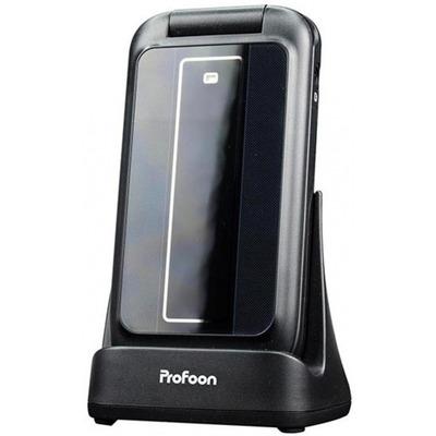"Profoon mobiele telefoon: 5.08 cm (2 "") LCD, 900/ 1800 Mhz, 3.5 mm - Zwart"