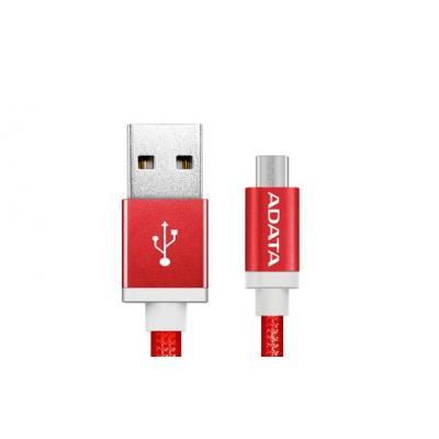 Adata USB kabel: 1m, USB2.0-A/USB2.0 Micro-B - Rood