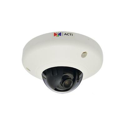 ACTi E911 Beveiligingscamera - Zwart, Transparant, Wit
