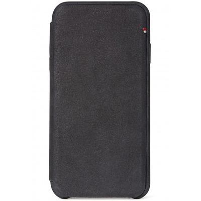 Leather Slim Wallet iPhone Xs Max - Zwart - Zwart / Black Mobile phone case