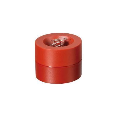 Maul paperclip: Ø 7.3 cm, 6 cm - Rood