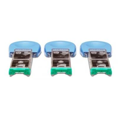 HP Staple cartridge assembly - Has 1,000 staples - For the staple module assembly in the 500-sheet stacker/stapler .....