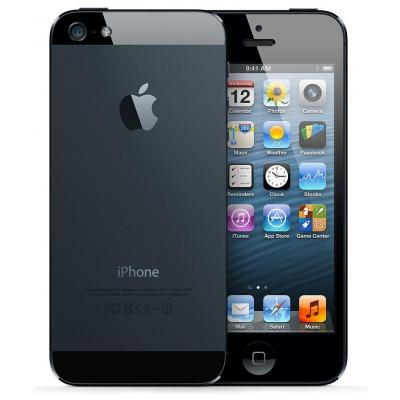 Apple smartphone: iPhone 5 16GB Zwart   Refurbished - Black