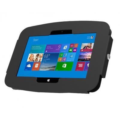 Compulocks : Space Surface 3 Tablet Enclosure, w/ Security Lock, Black - Zwart