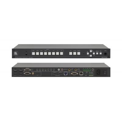 Kramer Electronics 6.75Gbps, 19'', 1U, 8−Input HDMI, 2.5kg Audio switch  - Zwart