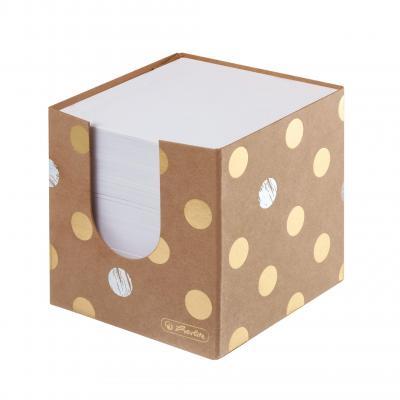 Herlitz Pure Glam Zelfklevend notitiepapier - Goud, Wit