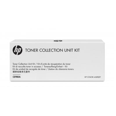 Hp toner collector: Color LaserJet CE980A 150000 pagina's - Zwart
