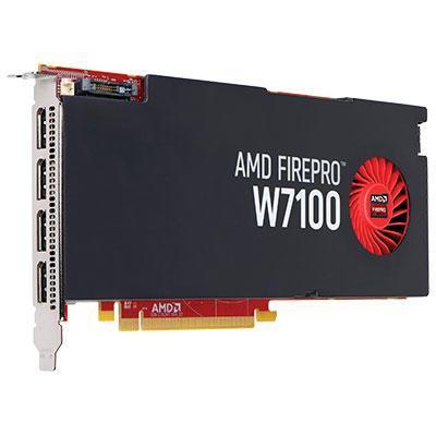HP videokaart: AMD FirePro W7100 - 8GB