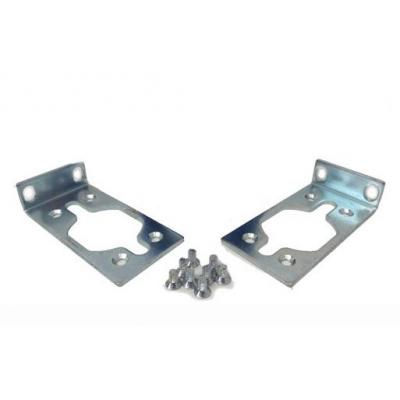 Hp montagekit: Rack Mount Bracket Kit - Metallic
