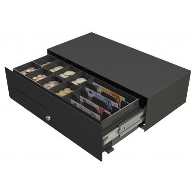 Apg cash drawer geldkistlade: Micro – A - Zwart