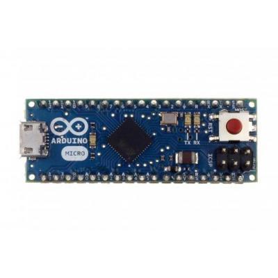 Arduino controller: ATmega32u4, 16MHz, 40/50mA, 6-20V