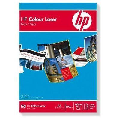 Hp papier: Color Laser Paper 100 gsm-500 sht/A4/210 x 297 mm - Wit