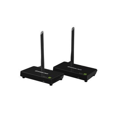 Iogear Wireless 4K AV extender - Zwart