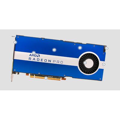 AMD Pro W5500 Videokaart - Blauw