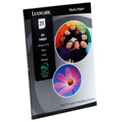 Lexmark Inkjet (A4 - 25 vel) Fotopapier