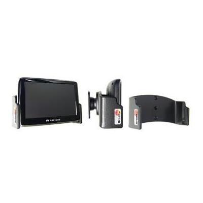 Brodit : Passive holder with tilt swivel for Navigon 3300 Max/3310 Max/4300T Max/4310 Max/6310/6350 Max - Zwart