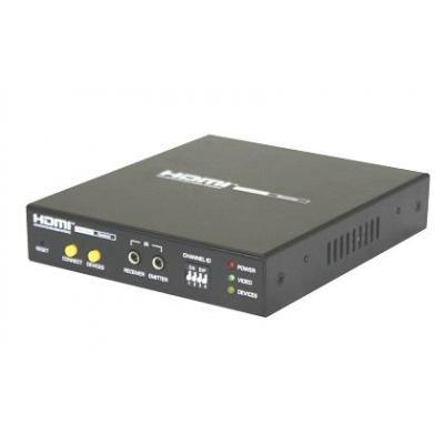 Uniclass HDMI AV Matrix Extender - Receiver AV extender - Zwart