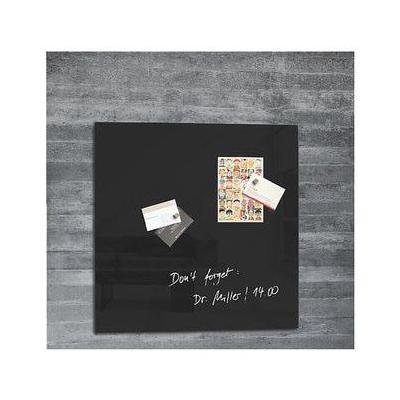 Sigel magnetisch bord: zwart, 48 x 48 cm, 1 stuks