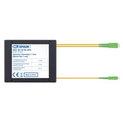 Spaun 815046 Kabel splitter of combiner - Zwart