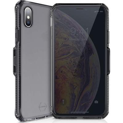 ITSKINS Spectrum Vision Booktype iPhone Xs Max - Zwart - Zwart / Black Mobile phone case