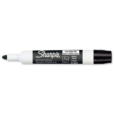 Sharpie markeerstift: Bullet Tip Whiteboard Markers - Zwart, Wit