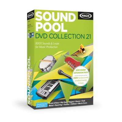 Magix audio software: Magix, Soundpool DVD Collection 21  PC