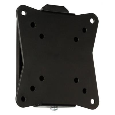 "Valueline montagehaak: TV wall mount fixed, 10 - 26""/25 - 66 cm, 30 kg - Zwart"