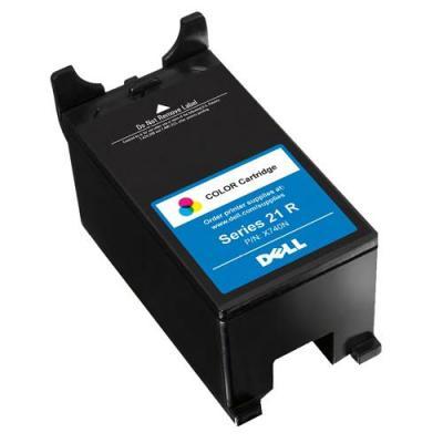 Dell inktcartridge: Regular Use V515w/V515w-Red Standard Capacity Colour Ink Cartridge - Kit - Zwart